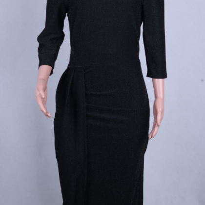 Autumn and winter new stretch dress..