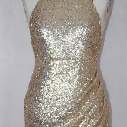 FASHION GOLDEN SHINING SEQUINS IRRE..