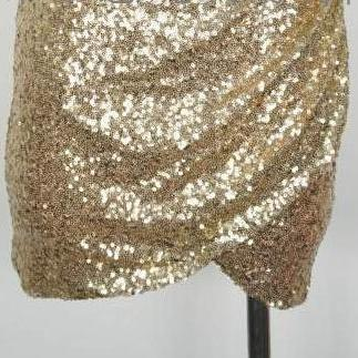 HOT GOLDEN SHINING SEQUINS DRESS