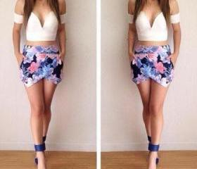 CUTE TWO PIECE FLOWE..