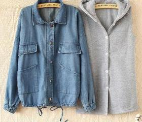 HOODED VEST FLEECE L..