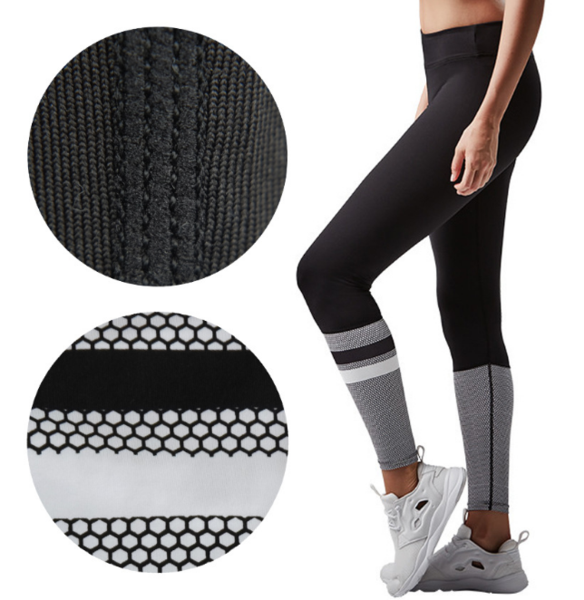 New stretch tight fitness pants sports Leggings female
