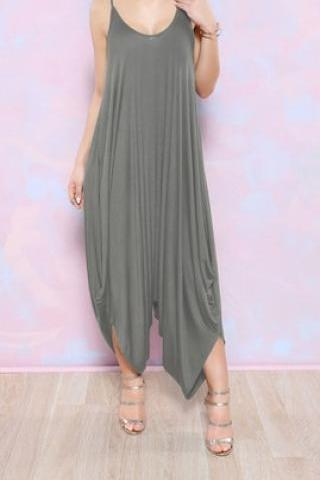 CUTE DEEP V LOOSE JUMPSUIT