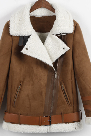 Female short paragraph coat thick coat female HIGH QUALITY
