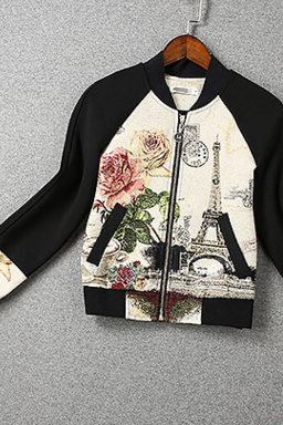 FASHION CUTE TOWER JACKET