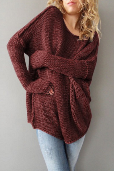 Winter sweater with long sleeves sweater