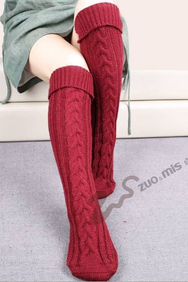 New knee warm stockings