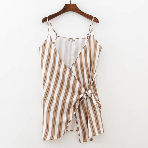 Sexy Womens Striped Bodyco..
