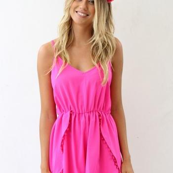 Cute fresh hot jumpsuit