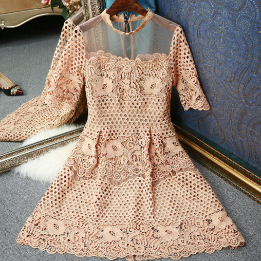 FASHION CUTE LACE DRESS